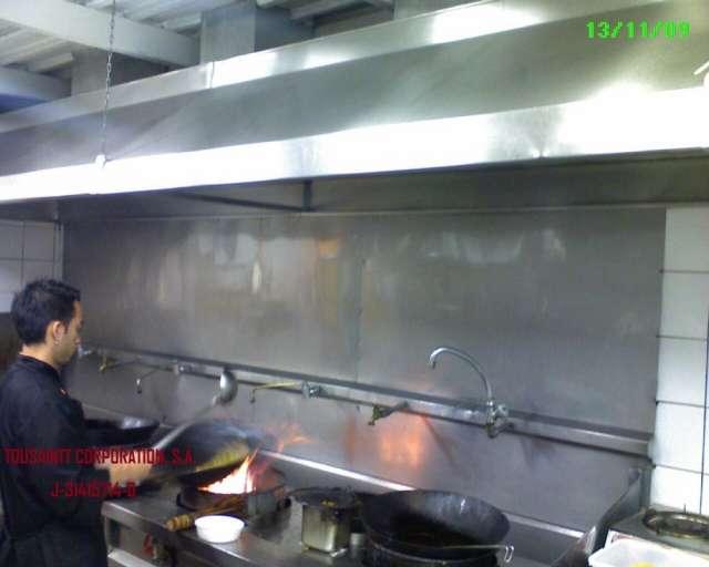 Extractor de humo para cocina restaurante - Extractor humos cocina ...