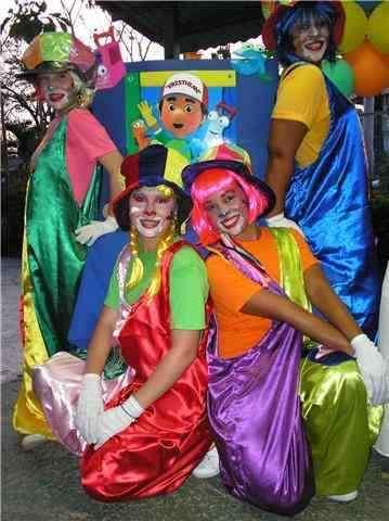 Party show grupo infantil navideño en maracaibo