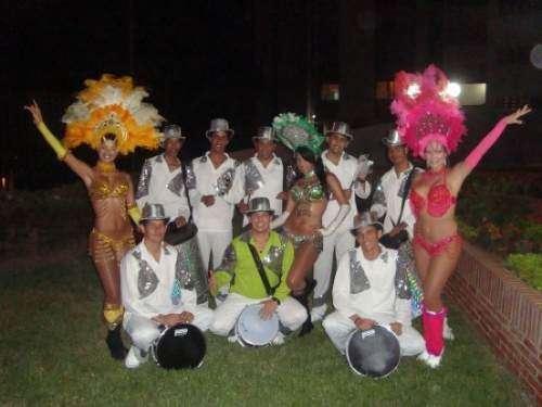 Cotillón samba show para fiestas,desfiles y bodas en maracaibo