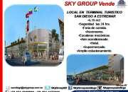 Sky Group vende local comercial terminal turístico San Diego