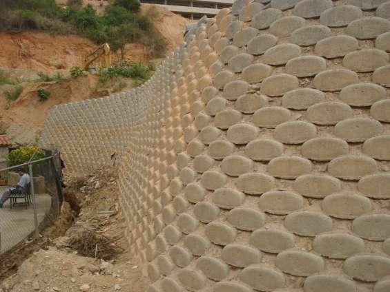 Fotos de Muros de concreto armado-ciclopeos-muroblock-gaviones y mas 5