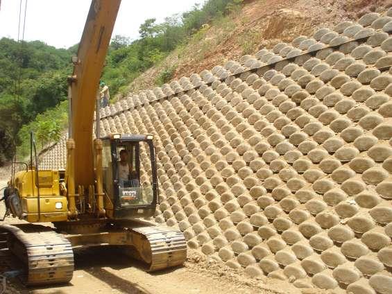 Pin fotos de muros contencion piedras gaviones concreto - Muros de contencion de piedra ...