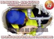 SERVICIO DE PLOMERÍA MARACAIBO 24 hrs EXPERTOS. ZULIA.