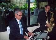 Música  ambiental  con  saxo  y  piano  para  eventos