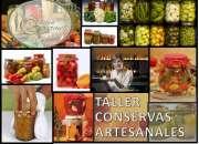 TALLER DE CONSERVAS SALADAS Y ENVASADO DEL 6 AL 8 DE OCTUBRE 2015