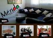 Web de Apartamentos Vacacionales Mérida (Cerca Mukumbari)