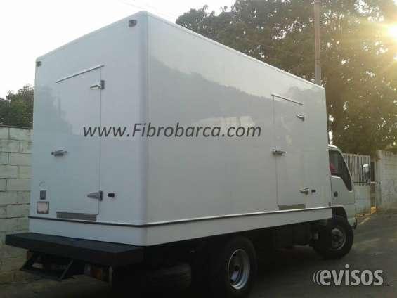 Fibrobarca cavas de fibra para camiones