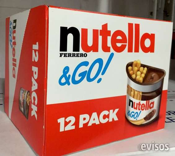 Caja de nutella and go