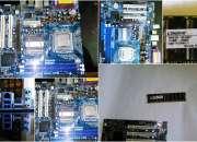 VENDO TARJETA MADRE ASROCK CON 2 PUERTOS IDE Y 2 SATA DDR2 +MEMORIA RAM DDR2 1GB