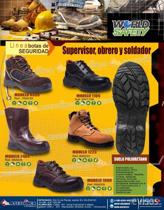 - botas de seguridad - guantes de seguridad diversos - bragas de seguridad - lentes -casc