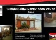 Inmobiliaria Inservipcon Vende Hermosa Casa en Punta Gorda