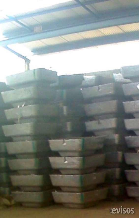 Vendo aluminio en pailas o lingotes