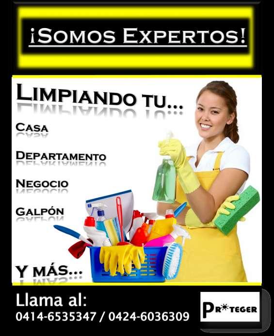 Limpieza de casa y departamentos