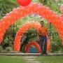 Decoraciones con globos, mallas de globos, Helio, esculturas con globos