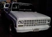 Vendo camioneta pick chevrolet 89 silverado motor 8 cil. lista para trabajar