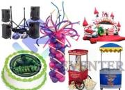 Organización de Eventos, cumpleaños y fiestas infantiles.