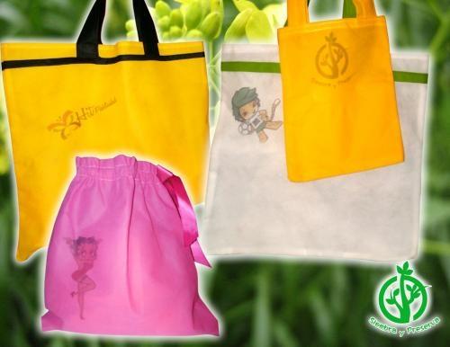 Bolsas ecológicas publicitarias en variedad de colores y diseños