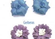 Taller de bisuteria en masa flexible flores exoticas
