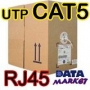 BOBINA DE CABLE UTP CAT 5e 300 metros BLANCO..  Data Market