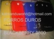 Usado, Venta deforrosde goma dura parablackberry9800… segunda mano  Dependencias Federales