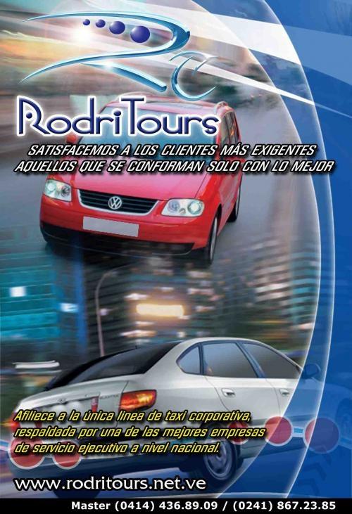 Rodritours, empresa de servicio de transporte ejecutivo