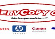 servicio tecnico para fotocopiadoras canon en valencia carabobo