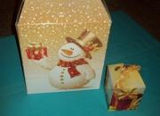 Caja navideña  regalos corporativos