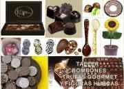 Taller de bombones, trufas y figuras artesanales moldeadas de chocolate programacion agosto - diciembre 2010