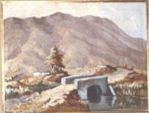 Pintura , cuadro maestro trino orozco