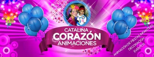 Catalina corazon animaciones, eventos y decoracion