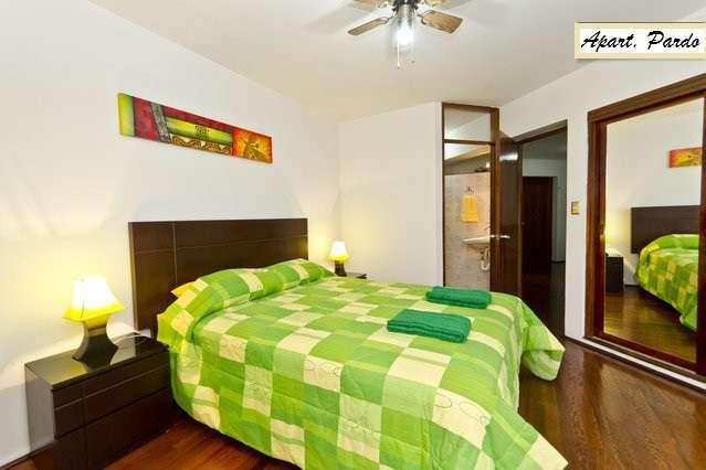 Apartamentos amoblados en miraflores, lima-perú
