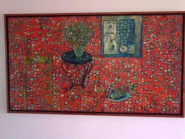 Obra reconocido artista venezolano.