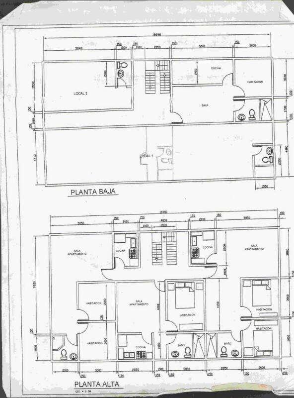 Se vende edificio que puede ser utilizado para comercio