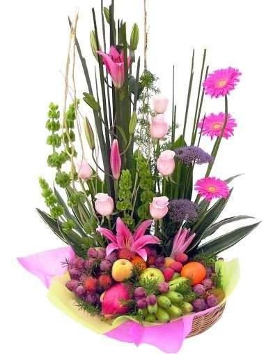 Los Mejores Arreglos Florales Con Frutas En Maracay