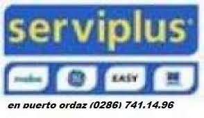 Serviplus.c.a en puerto ordaz reparacion mantenimiento e instalacion de linea blanca