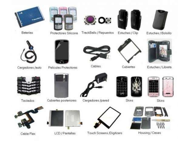 Repuestos y accesorios para celulares al mayor y detal