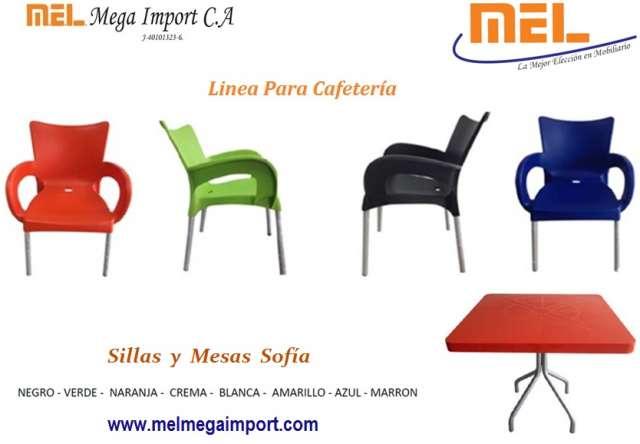 Sillas hogar & cafetería mel marca safa, dell, ofisa :::