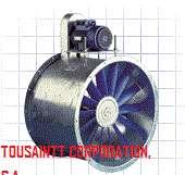 Ducto, campana, filtro y extractor