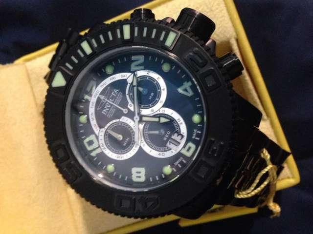 Reloj invicta modelo 10771 sub hunter master of the oceans