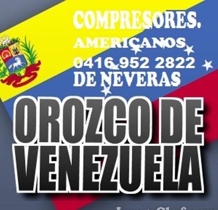 Compresores de nevera y aire acondicionado a nivel nacional orozco de venezuela04169522822