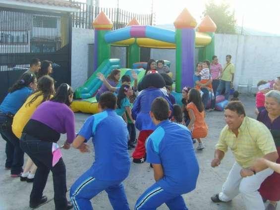 Animacion y recreacion de fiestas infantiles. recreadores, payasitas.