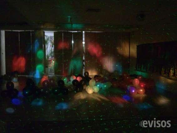 Alquiler completo de sonido,dj,luces y efectos para fiestas