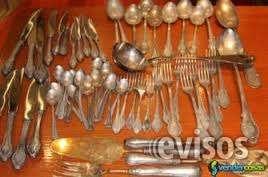 Compro bandejas y cubiertos de plata y pago bien ccct