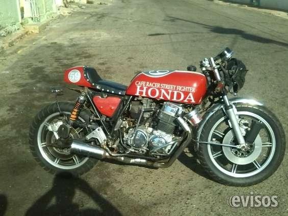 Espectacular moto honda cb 750