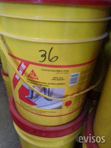 Sikafill impermeabilizante para techo