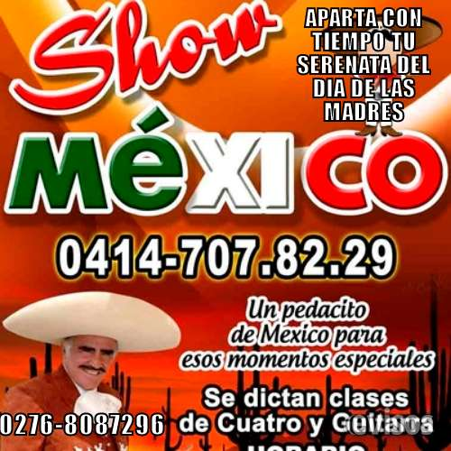 Mariachia show mexico para esos momentos especiales