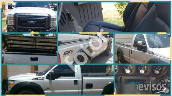 Vendo ford f250 xl 4x2 . años 2012