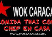 Comida Tailandesa con chef en casa #CARACAS