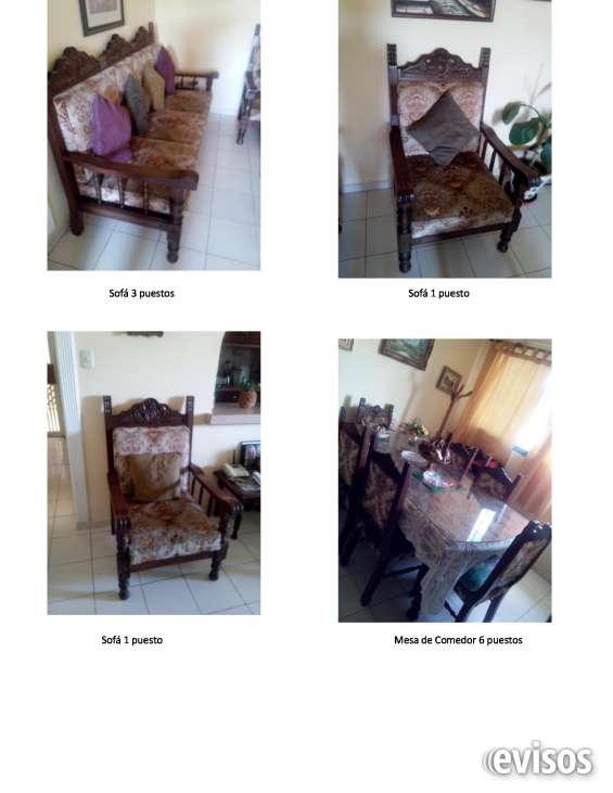 Venta de bello juego de muebles voloniales