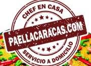 Servico de Paella a Domicilio y Chef en casa CARACAS